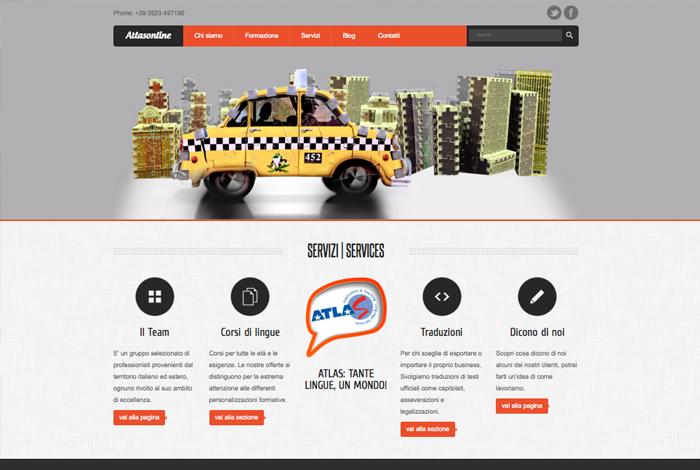 Atlas Web site