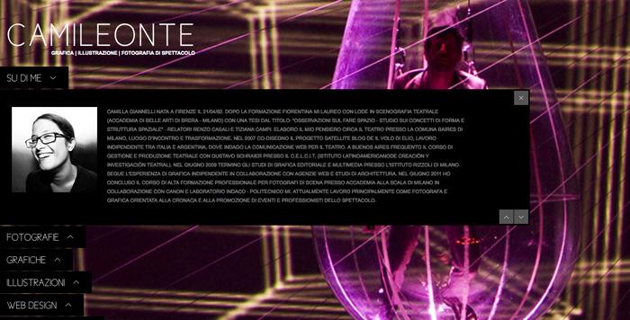 Sito Web Camileonte