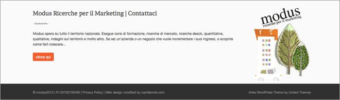 Modus Web Site