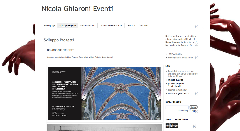 Sito Web Studio Ghiaroni