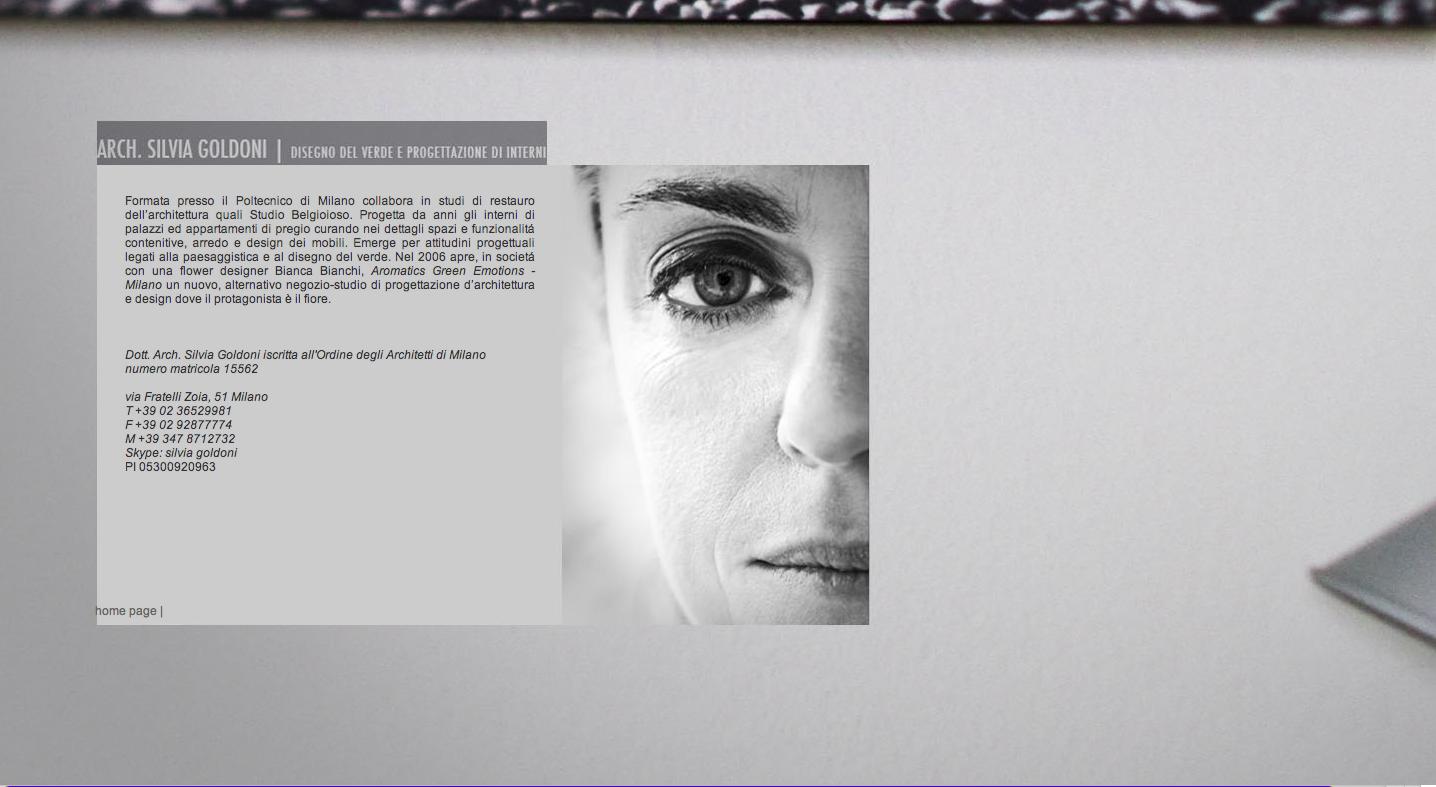Website Goldoni
