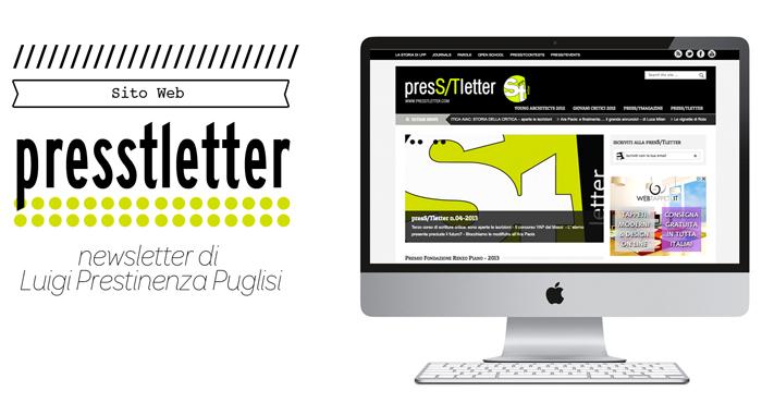 Sito Web Presstletter