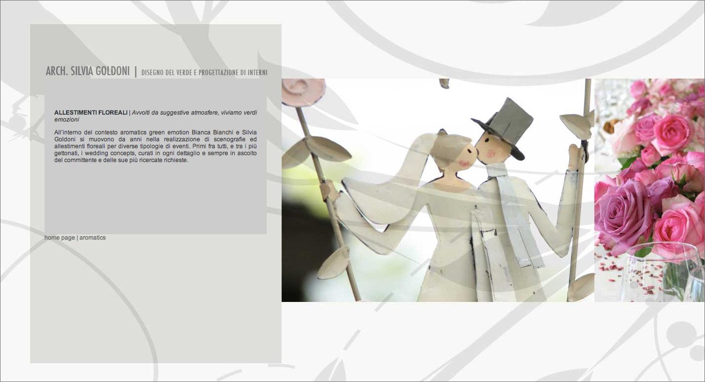 Goldoni Website